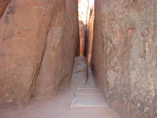 73 Trail bij Sand Dune arch
