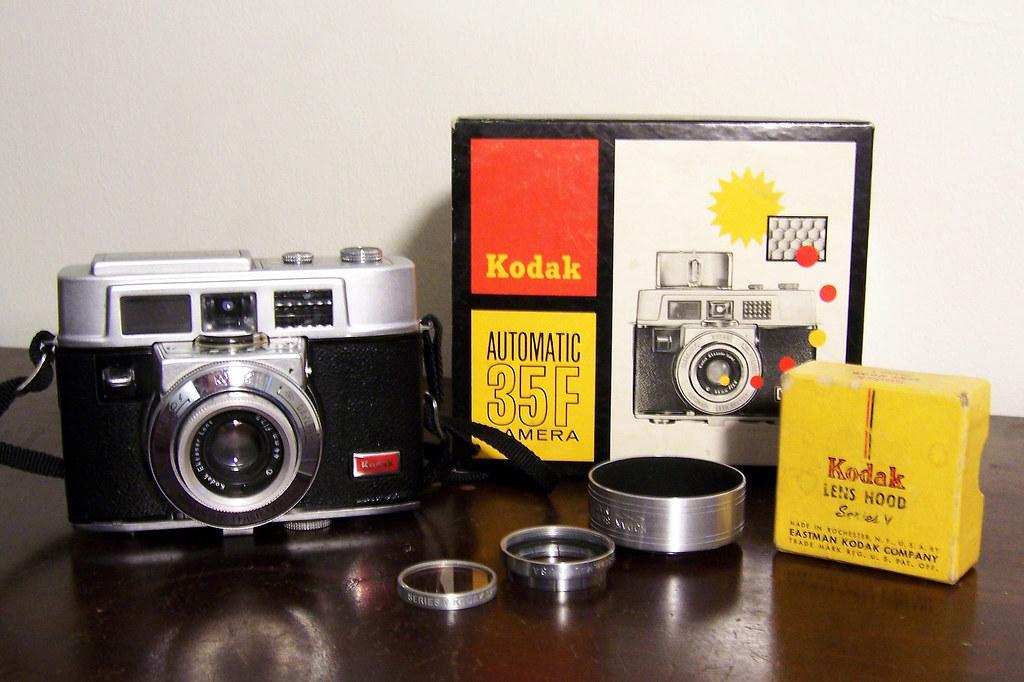 Kodak Automatic 35F outfit