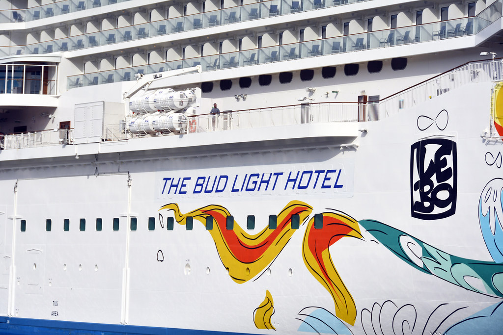 Picture Of The Norwegian Getaway As The Bud Light Hotel Fo