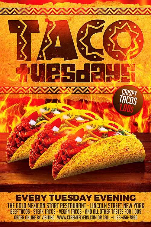 Taco Template | Taco Tuesdays Flyer Template Taco Tuesdays Flyer Template Flickr