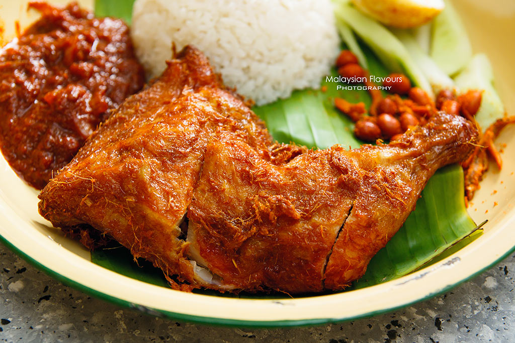 Poppo Kanteen Sri Petaling KL ayam goreng