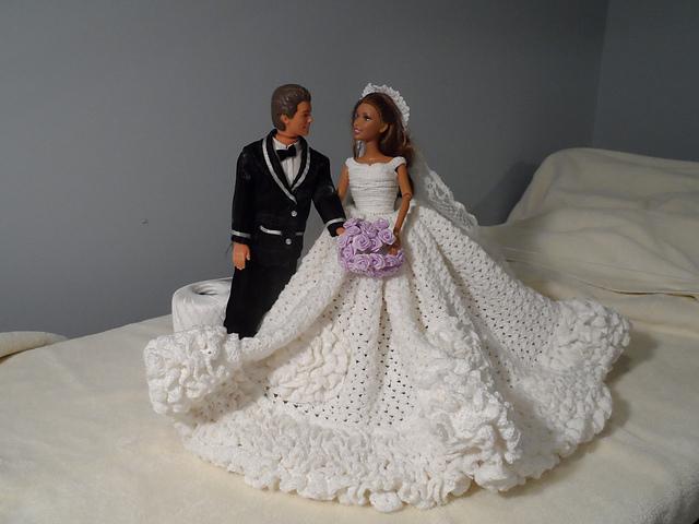 Crochet wedding dress in the style of jackie kennedy flickr mp crochet wedding dress in the style of jackie kennedy by mp junglespirit Gallery