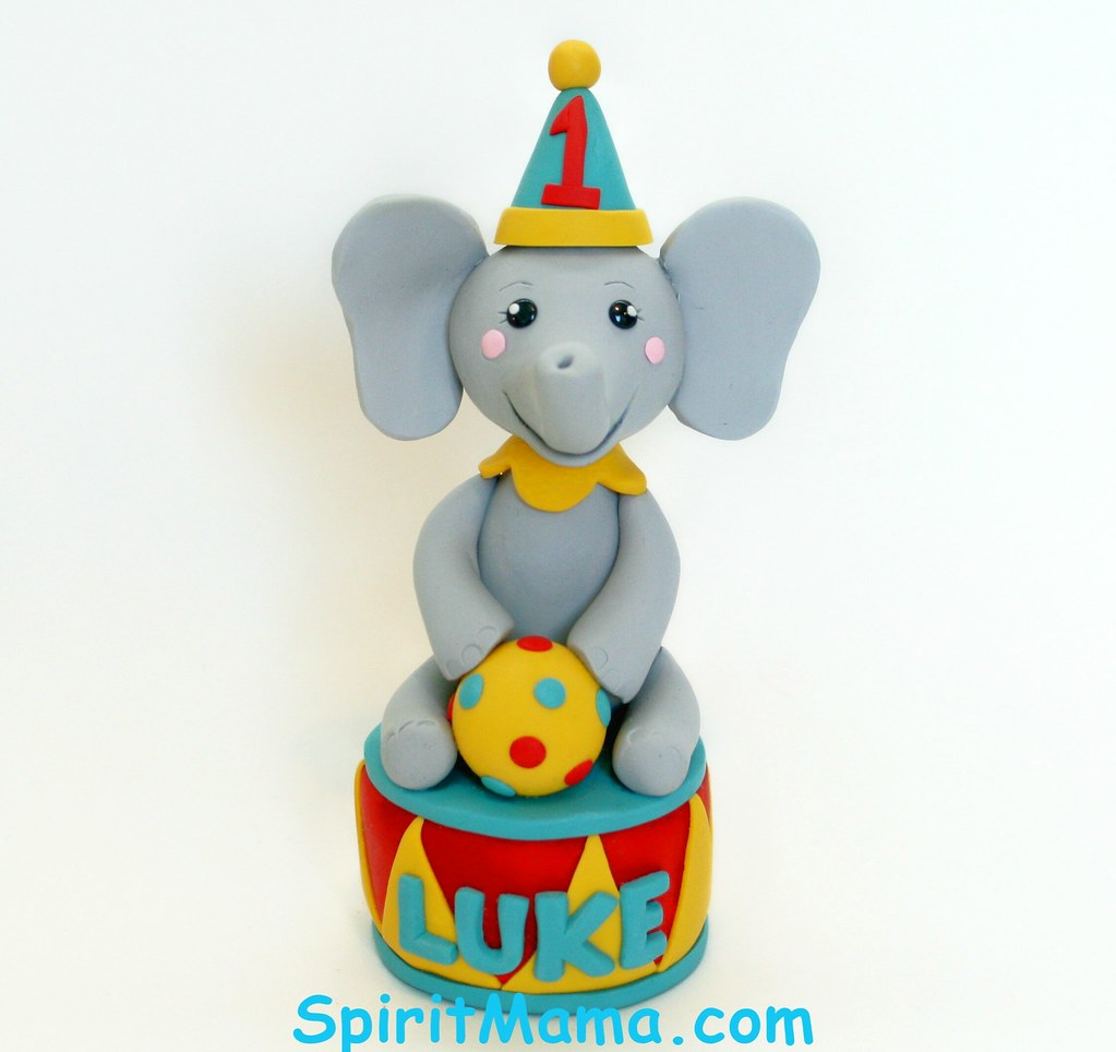 Circus Theme Birthday Cake Topper This Is For A Circus The Flickr