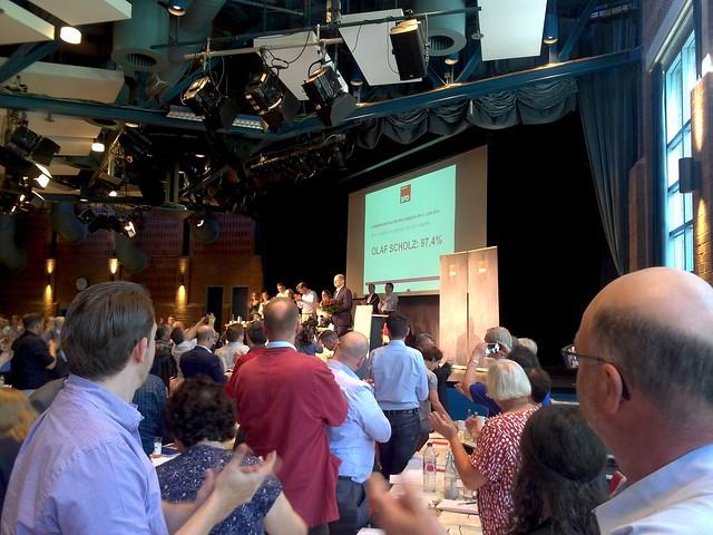 SPD Landesparteitag Hamburg im Juni 2016