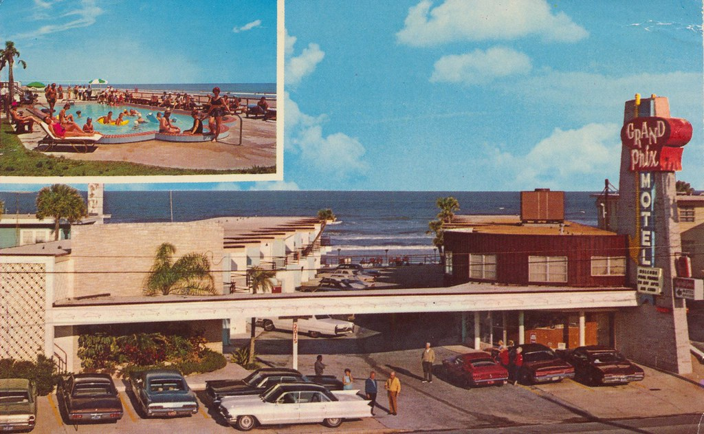 Grand Prix Motel - Daytona Beach, Florida