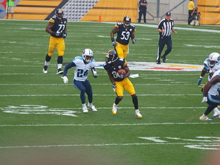 pittsburgh steelers vs tenn. titians 9-13 | by Paula R. Lively