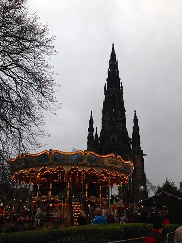 Edinburgh Christmas Market | by knitahedron