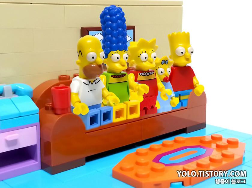 Lego Simpson Living Room Yolotistory199 Yong Kwan Lim Flickr