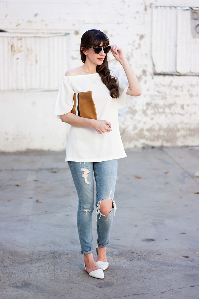 Modern Citizen Off the Shoulder Top