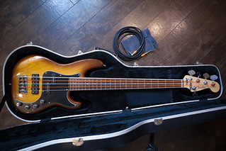 American Fender Precision Deluxe Bass V 5 string | by Kontramax