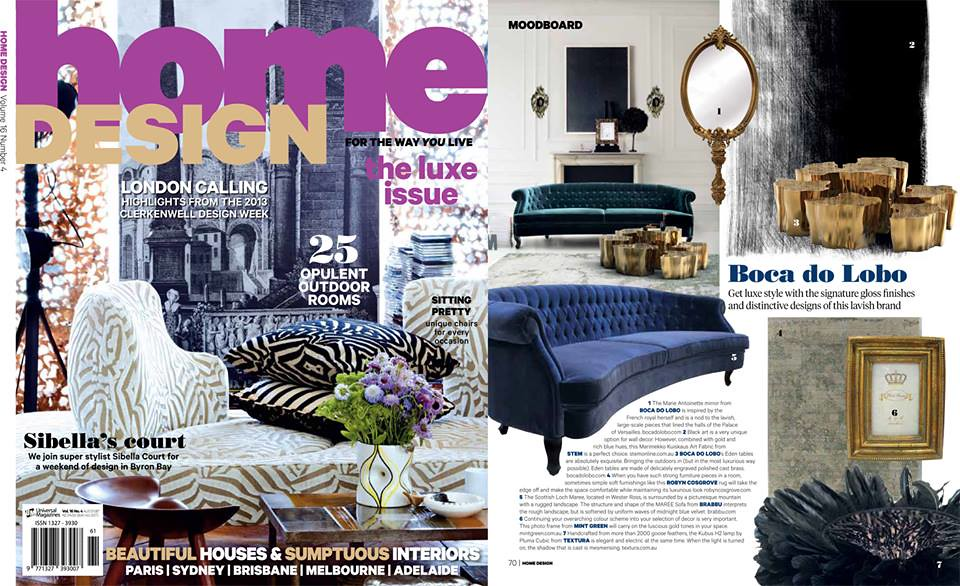 Australia | By BRABBU BRABBU In Home Design Magazine! Australia | By BRABBU