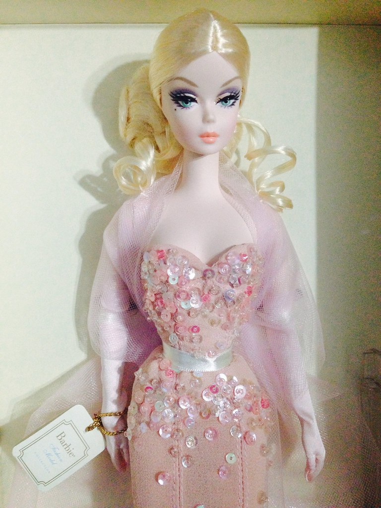 Barbie Mermaid Gown | And she is here, my first ever Silksto… | Flickr