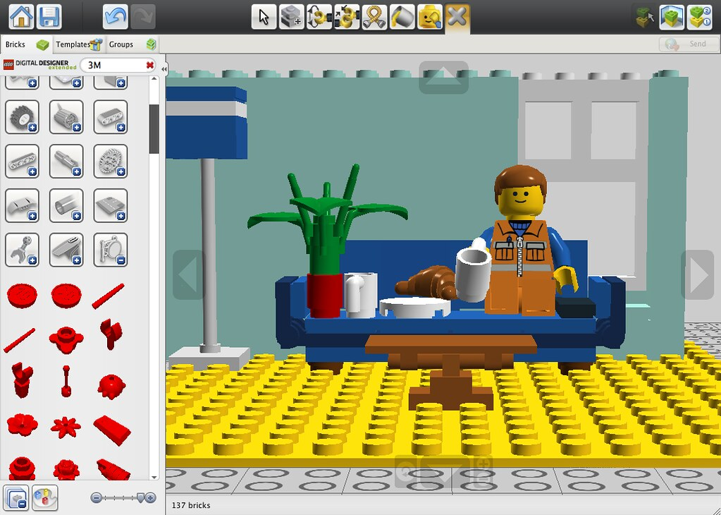 Lego designer templates choice image template design ideas for Lego digital designer templates