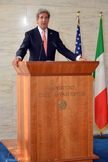 Secretary Kerry Addresses Reporters in Rome | by U.S. Department of State