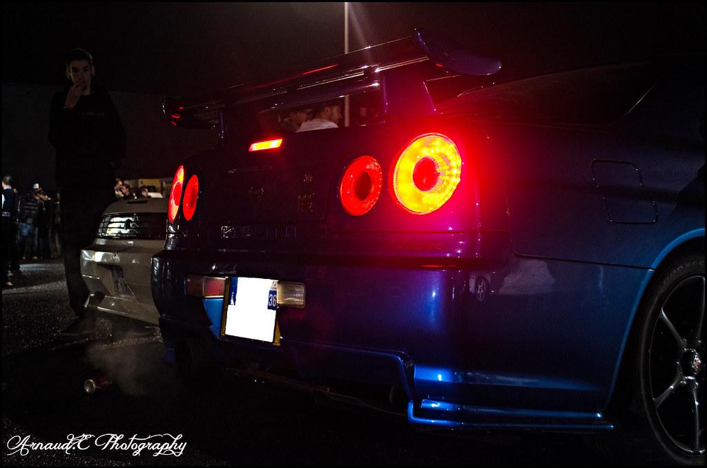 Nissan Skyline R34 GTR VSPEC GTR Night 25102013  Flickr