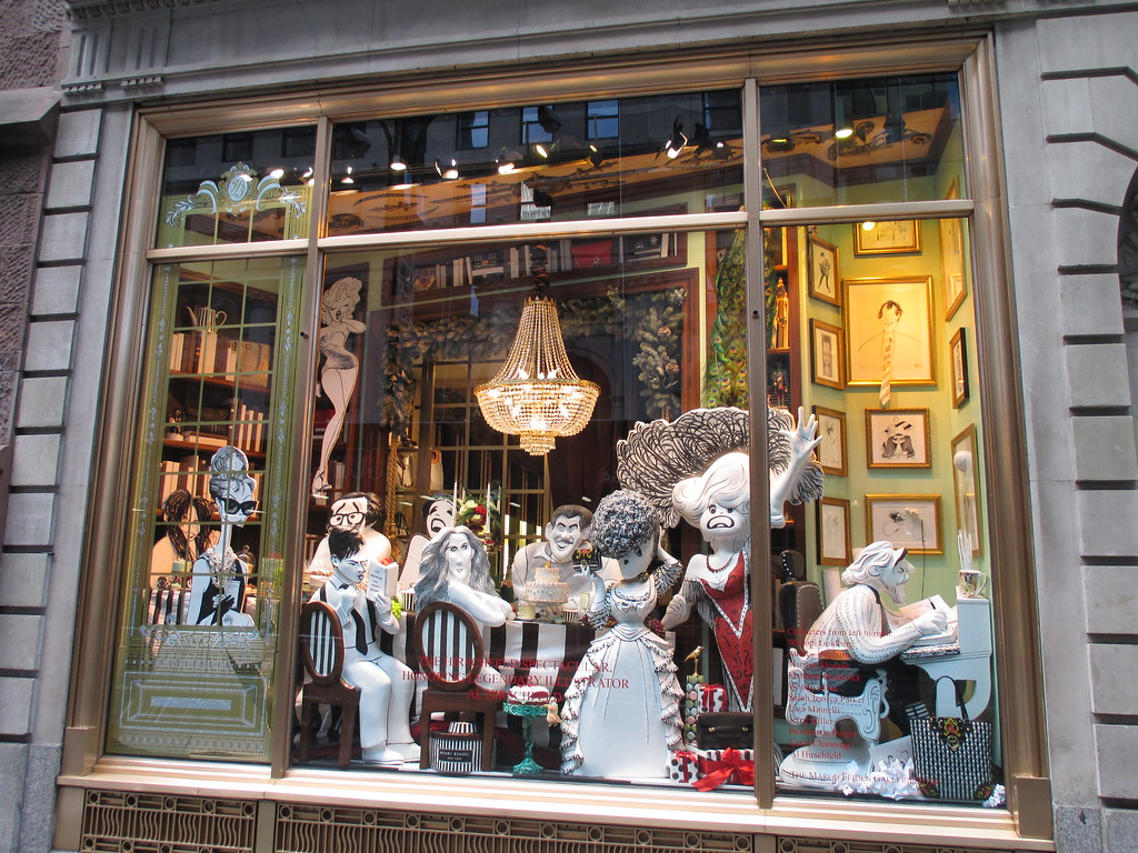 Al Hirschfeld - 2013 Christmas Windows Henri Bendel s NYC … | Flickr