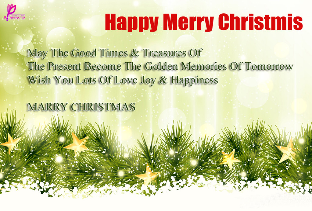 Happy-Merry-Christmas -Wishes-Greetings-Message-Card-Pictu… | Flickr