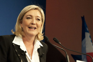 Marine Le Pen, Leader of the French National Front | by theglobalpanorama