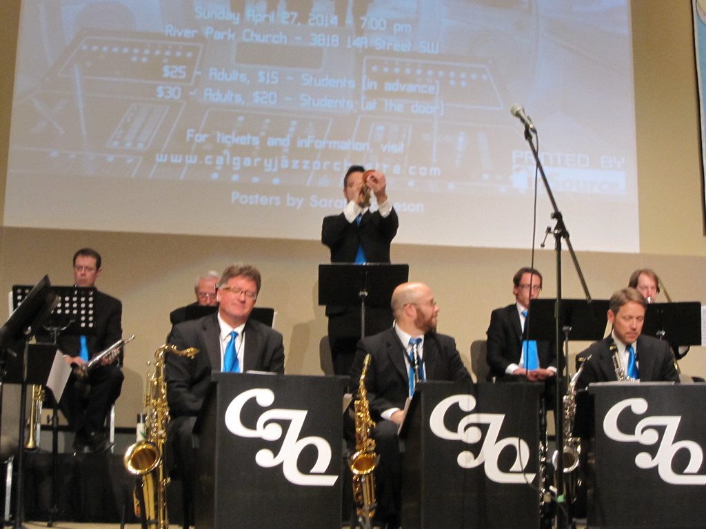 Calgary Jazz Orchestra: Sci-fi & New Orleans Funk Concert