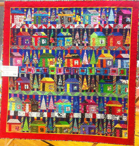 Freddy's House~Quilt by Debbie Pryor | by Pam from Calif