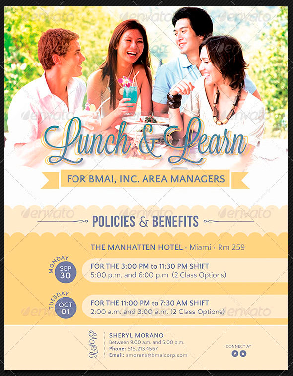 Lunch And Learn Corporate Flyer Template  The Lunch And Lea  Flickr