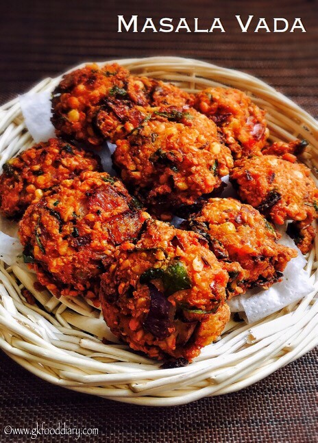 Masala Vada Recipe for Toddlers and Kids2