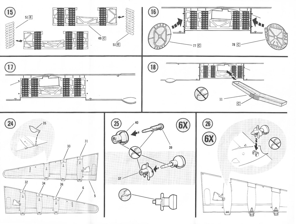 Monogram models instructions