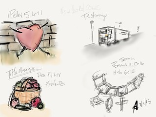 [Sketchnotes.ARJW] 10AM Service at #NewBethelCOGIC #MadeWithPaper | by ARJWright