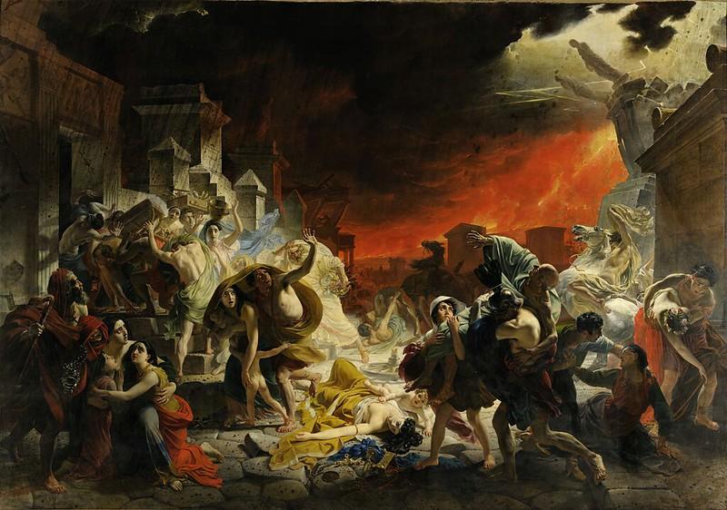 Karl Brullov - The Last Day of Pompeii (c.1830)