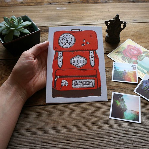 Holstee Letterpress Monthly Subscription Card Example