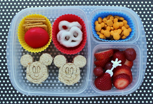 Mickey Mouse bento box school lunch | www.anotherlunch.com/2 ...