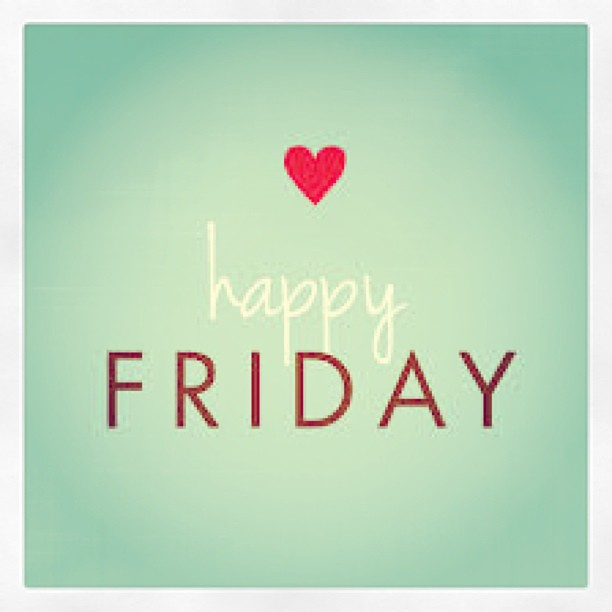hope you all have a lovely weekend tgif x by