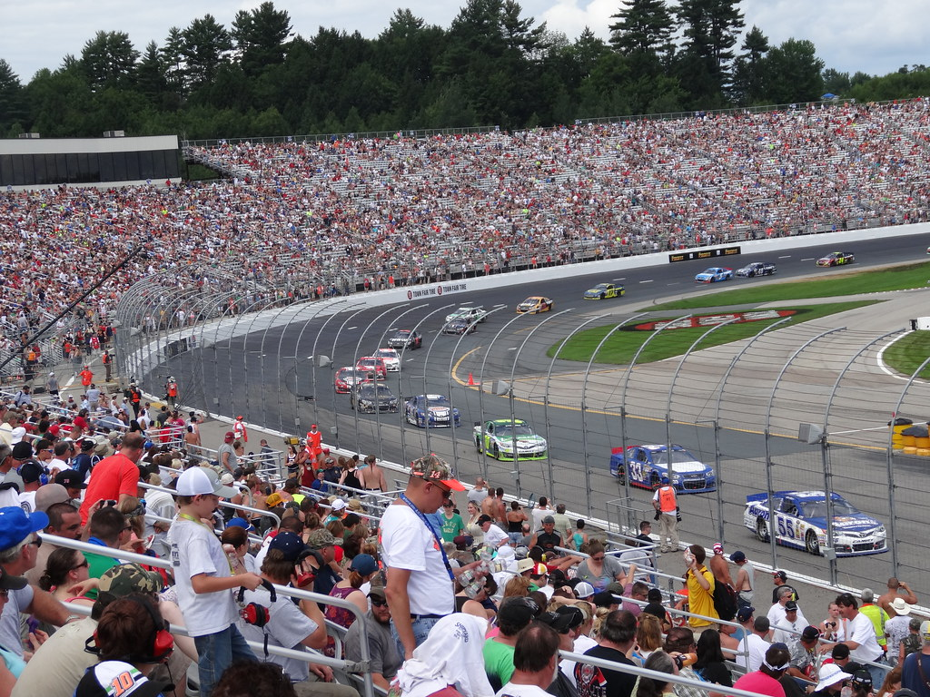 Let The Race Begin At The New Hampshire Motor Speedway By Hazboy