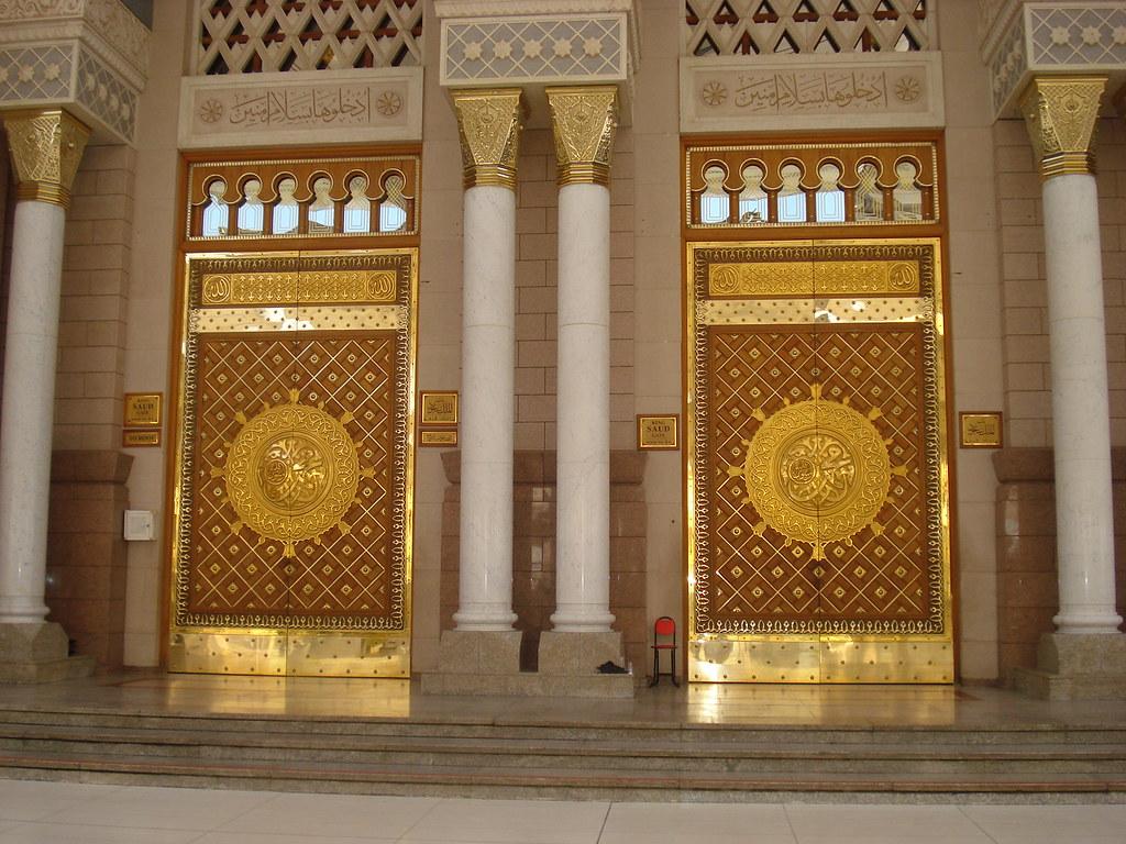 ... Doors of Masjid Nabvi Sharif | by Ibn Rizvi & Doors of Masjid Nabvi Sharif | Muhammad Athar Rizvi | Flickr