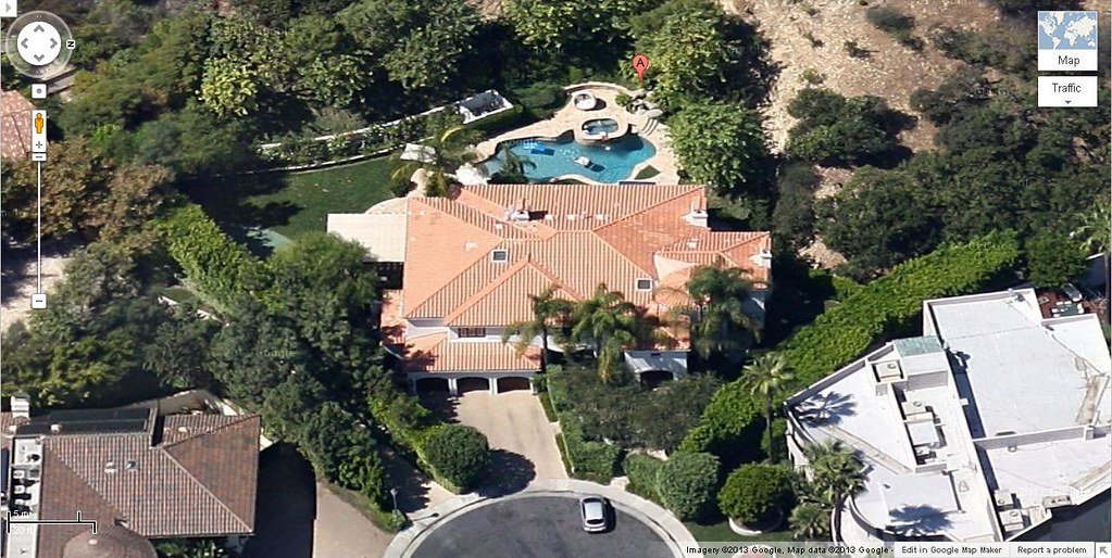 Mike Shinoda house in Beverly Hills, California