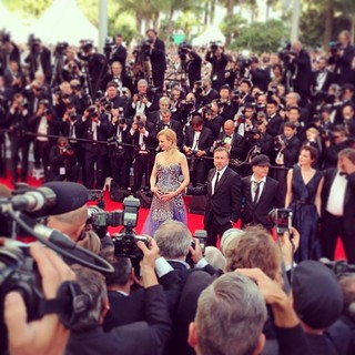Here's #NicoleKidman, centre of attention in #Cannes tonight @gettyvip #GettyCannes | by SteveHargrave