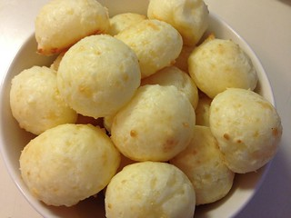 Pão de Queijo (Brazilian Cheese Bread) | by NoshWithMe