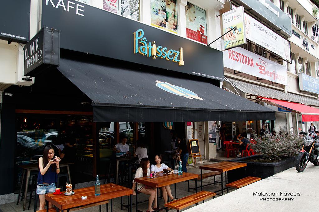 Patissez Cafe Malaysia Bangsar KL