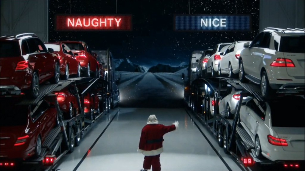 Mercedes-Benz AMG Funny Christmas Commercial ( YouTube Vid… | Flickr