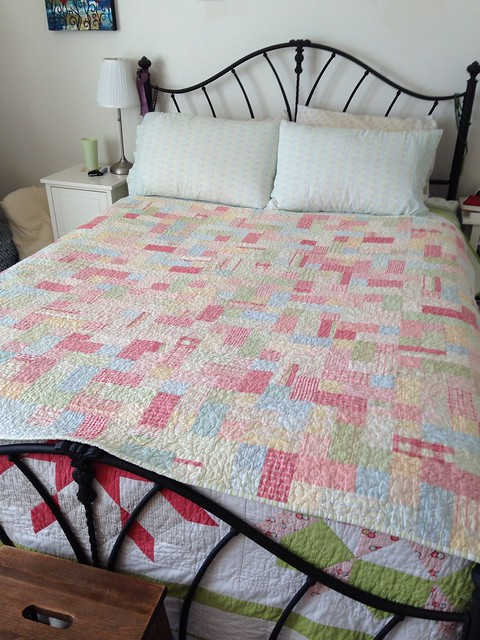 Faded Memories Picnic Quilt