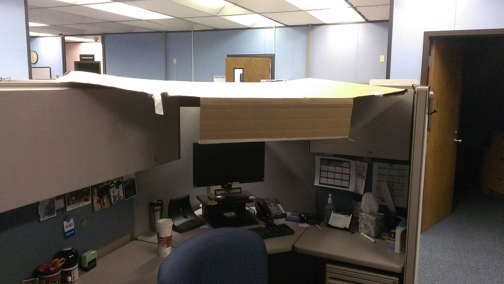 office cubicle roof. cubicle roof cubeshield i totally need this at office e