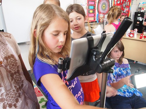 Students Filming with iPad 27 | by flickingerbrad