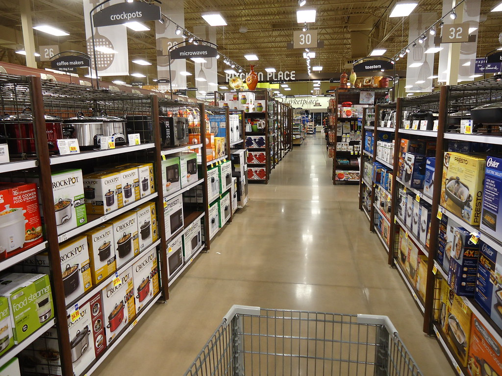 exceptional Kroger Kitchen Appliances #1: ... Kroger Marketplace kitchen appliance section | by C-Bunny