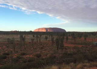 Boomerang cloud over Uluru, amazingly during National Reconciliation Week 2016 | by gpsu.land