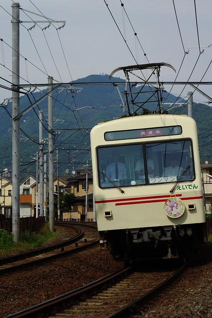 2016/05 叡山電車×三者三葉 ラッピング車両 #02