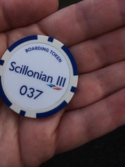 Travelling from Penzance to Isles of Scilly on Scillonian III - 24 June 2016