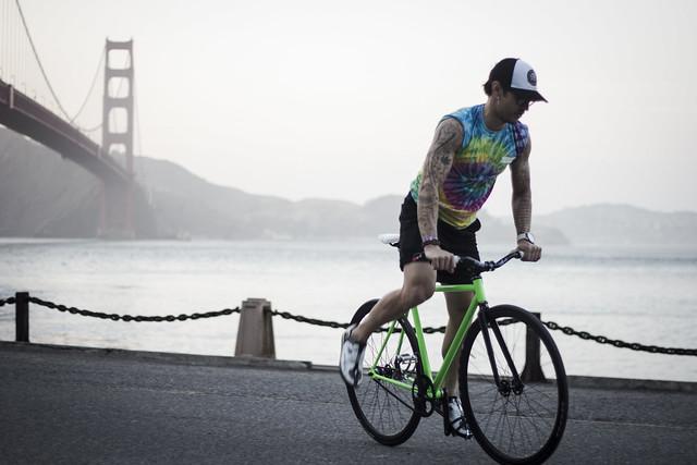 San Francisco cycling