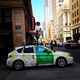 Oh hello, Google Maps Street View Car! | by Schill