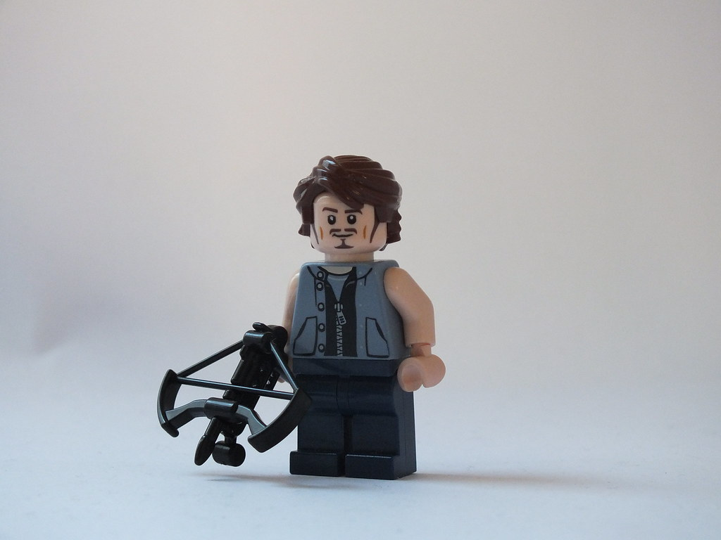 Walking dead lego daryl the walking - By The_lego_guy Lego Walking Dead Daryl Dixon Updated By The_lego_guy