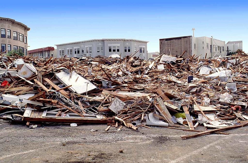 marina district san francisco loma prieta earthquake by vern krutein